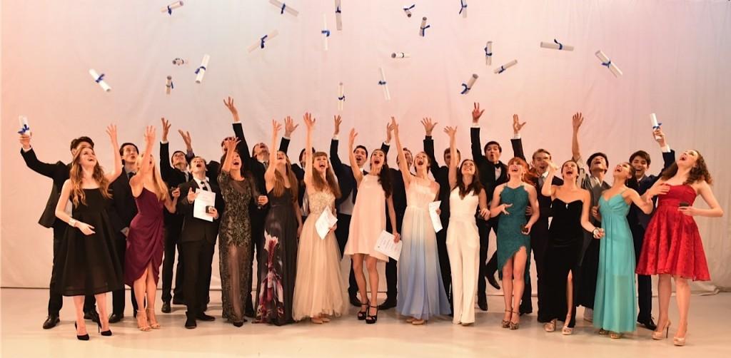2015 graduates.  Photo: Brian Slater