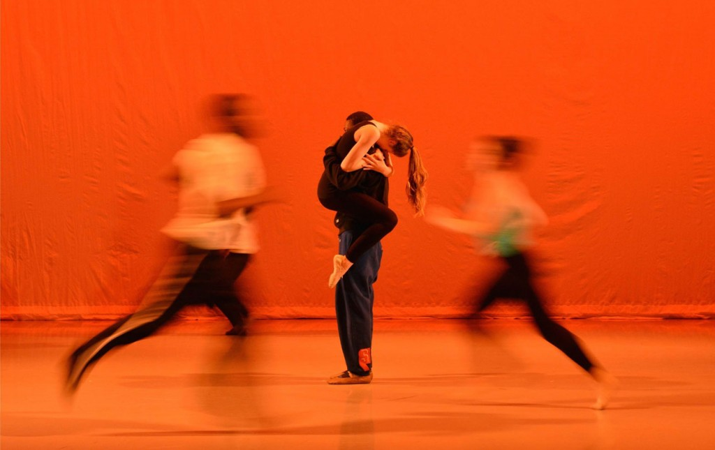 Dancers rehearsing Firebird, May 2014. Photo: Brian Slater