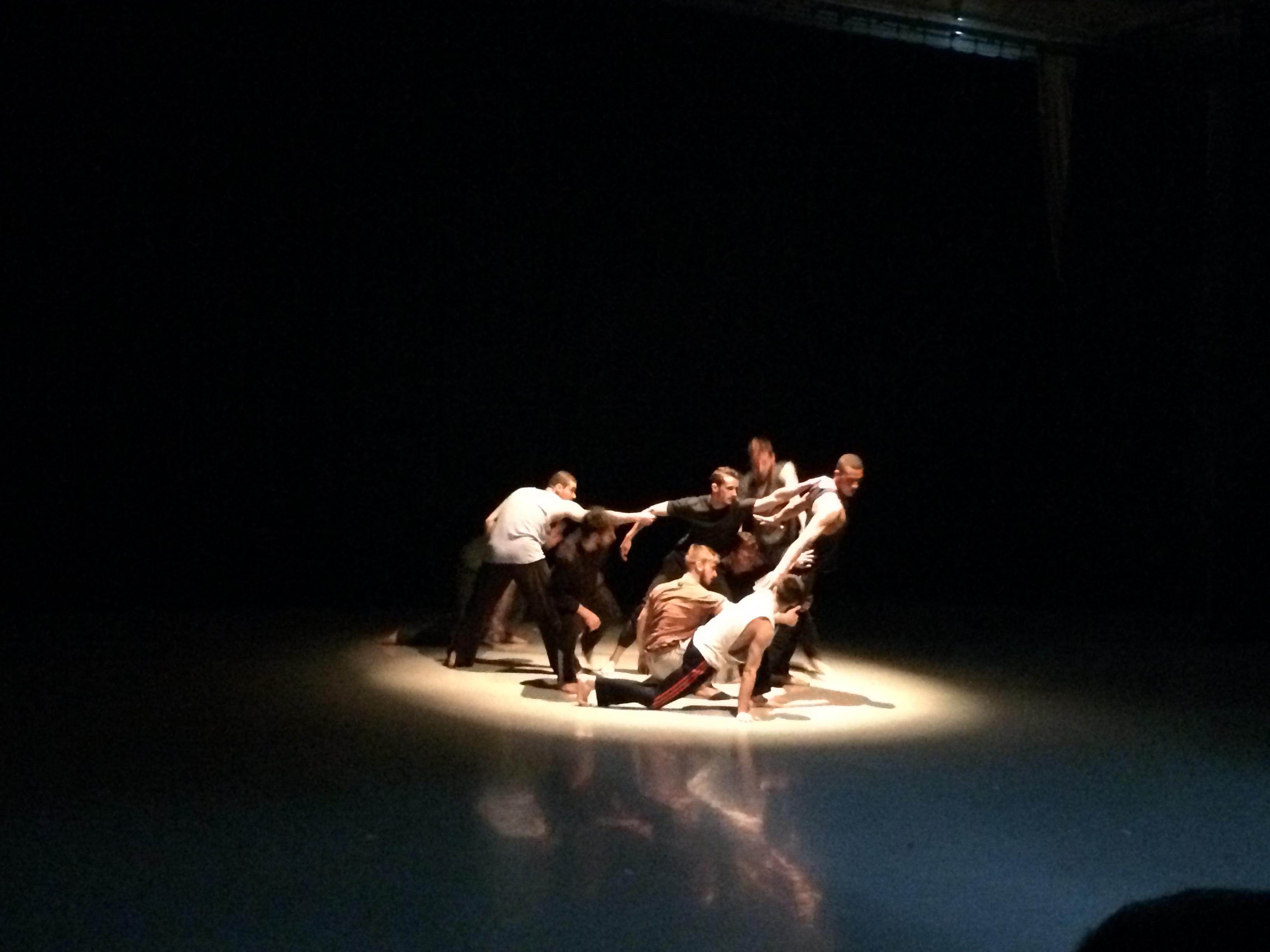 Ballet Boyz performing 'The Murmuration'