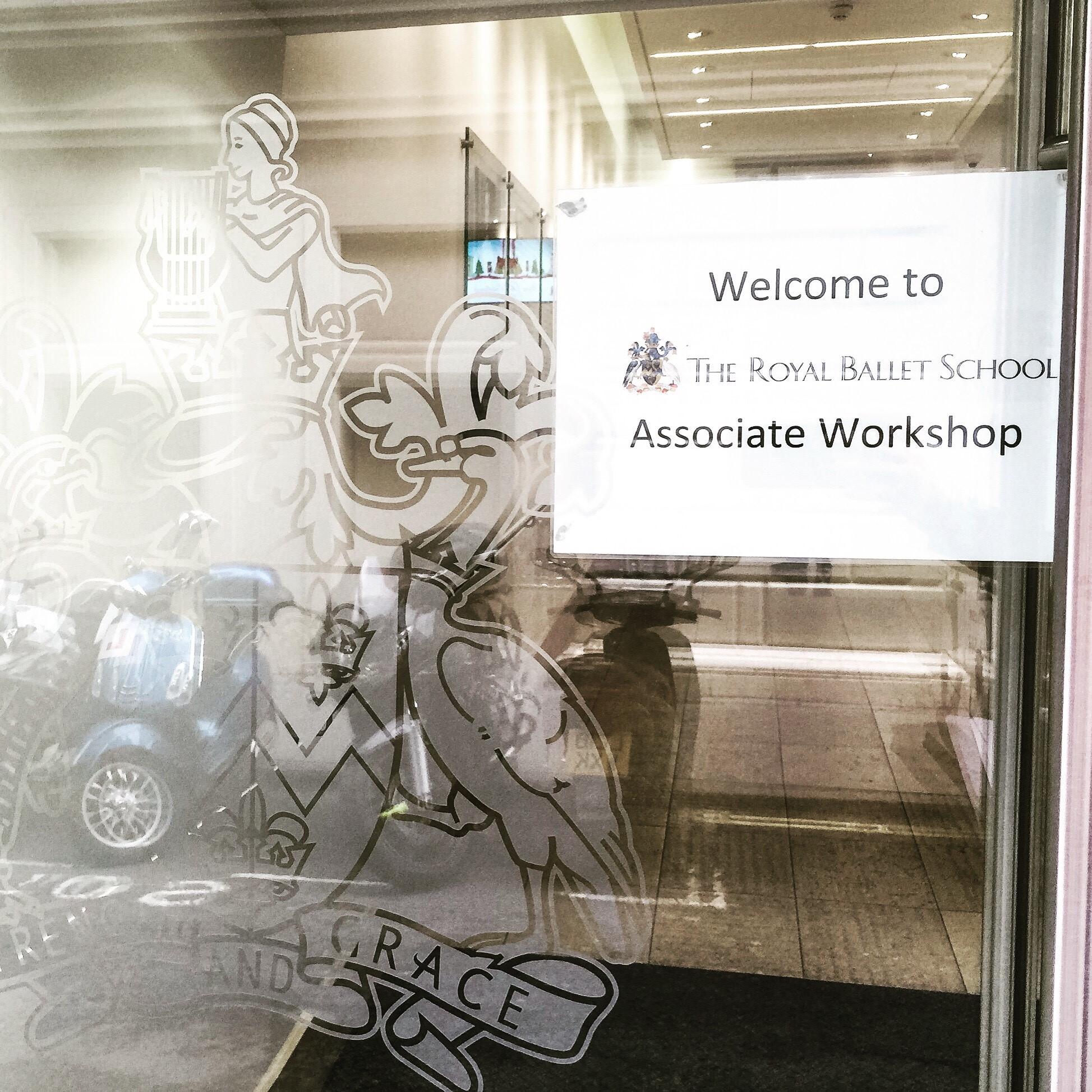 Associates day sign