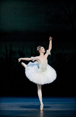 Lauren Cuthbertson as Princess Aurora in The Royal Ballet production of The Sleeping Beauty (2006), choreographed by Frederick Ashton (1904-1988), Anthony Dowell and Christopher Wheeldon after Marius Petipa (1818-1910), to music by Pyotr Il'yich Tchaikovsky (1840-1893), using designs by Oliver Messel (1904-1978) for the 1946 production with lighting design by Mark Jonathan. Performed at The Royal Opera House, Covent Garden on 25 November 2011. ***ARPDATA*** THE SLEEPING BEAUTY ;   Music by Tchaikovsky ;  Choreography by Petipa ;  Lauren Cuthbertson (Princess Aurora) ; The Royal Ballet  ;  At the Royal Opera House, London, UK ;  25 November 2011 ;  Credit: Royal Opera House / ArenaPAL