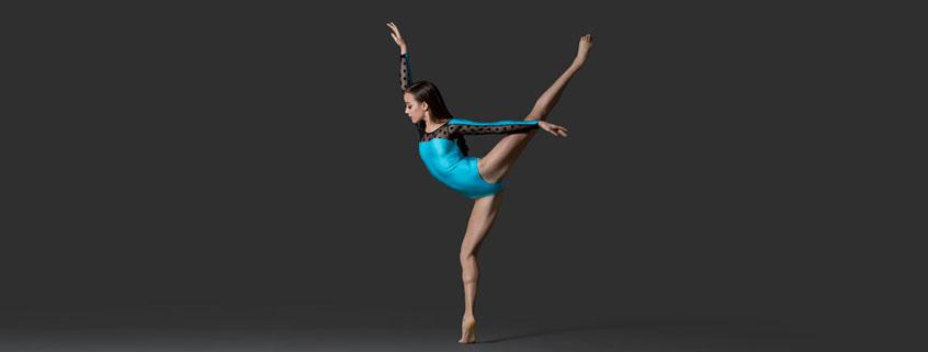 International Scholar Madison Penney dancing
