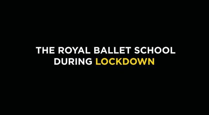 The Royal Ballet School during lockdown film