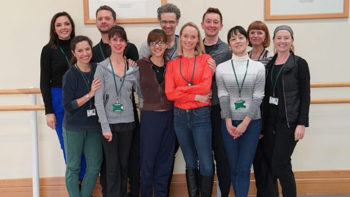 Diploma of Dance Teaching students in the studio